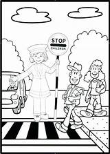 Coloring Road Printable Getcolorings Safety Sheets sketch template