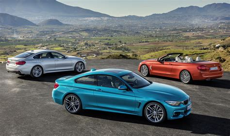 2018 Bmw 4series Arrives With Updated Look, Stiffer