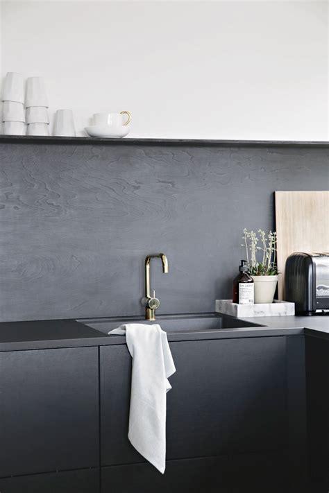 black backsplash kitchen kitchen upgrade the low cost diy black backsplash