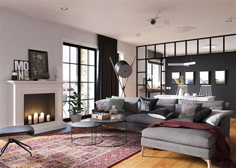 Design Wohnung Ideen by Minimalist Studio Apartment Design Applied With A Gray And