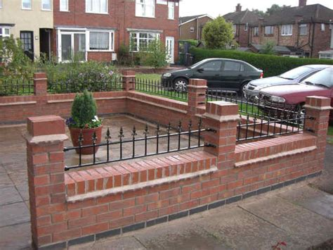 front garden brick wall designs pictures on brilliant home
