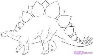 dinosaur earrings how to draw a stegosaurus dinosaur step by step