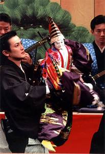 Japanese old puppet theatre -Bunraku- | Japanese Theater ...