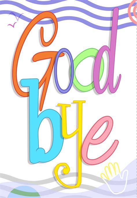 printable good bye greeting card llmnasbat