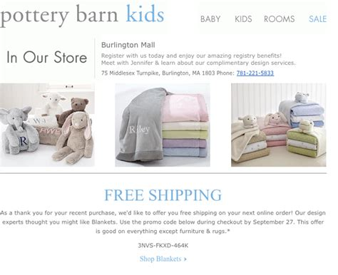 What You Can Learn From Pottery Barn's Email Marketing