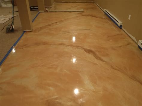 epoxy flooring tan epoxy garage floor