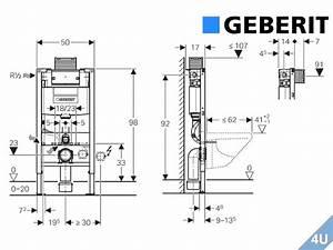 Vorwand Wc Höhe : geberit duofix vorwand montageelement wand wc 980 ~ Articles-book.com Haus und Dekorationen