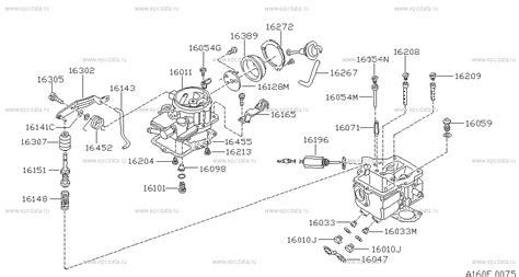 160 carburetor на vanette c120 nissan vanette автозапчасти