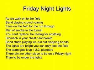 Football Poems