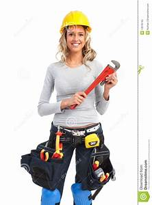 Builder Woman Stock Image  Image Of Manufactory
