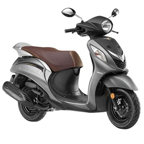 yamaha fascino 113 cc dazzling grey scooter at rs 54793 surajpur greater noida id