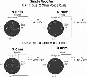4ohm Amp To Dual 4 Ohm Voice Coil Sub Wiring Diagram