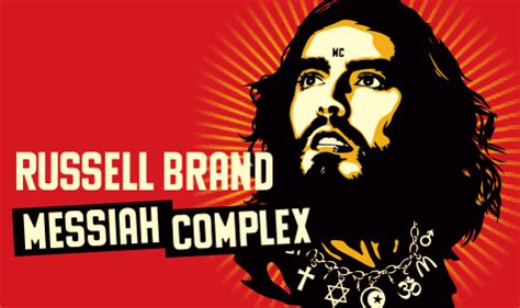 russell brand messiah complex mercy and messiah russell brand the postmodern prophet