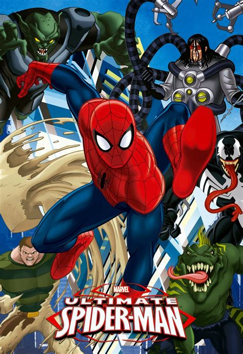 Héroes Animados Ultimate Spiderman