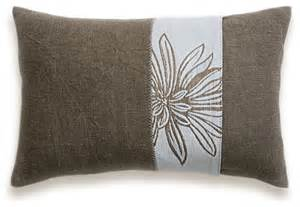 brown cream lumbar decorative throw pillow case 12 x 18 in