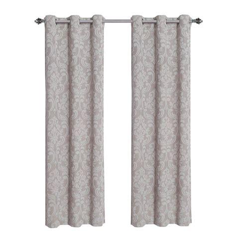 window elements elinor linen blend jacquard 84 in l