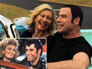 Olivia Newton-John and John Travolta reunite as Sandy and ...