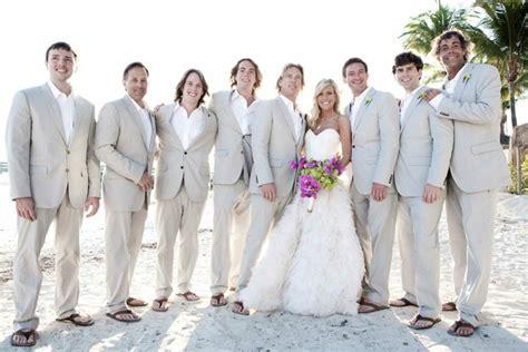 Complete Groomsmen Attire Guideline for Beach Weddings u2013 WeddCeremony.Com