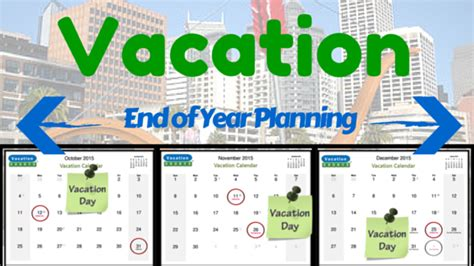school time plan year holidays vacationcounts