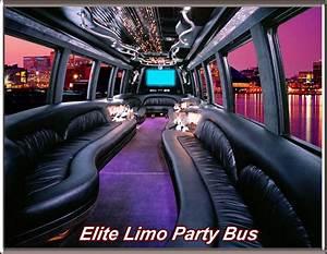 VIP Party Bus Elite Limo Bus Service Elite Limousine
