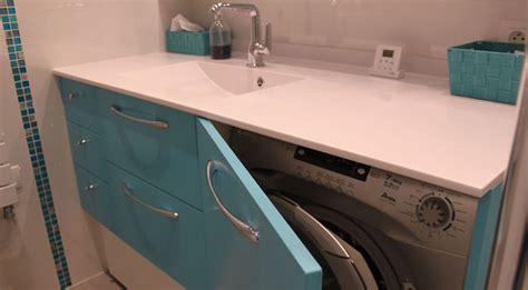lave linge dans cuisine construire un meuble de salle de bain gallery of