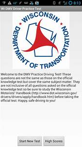 Wi Dmv Driver Practice Test