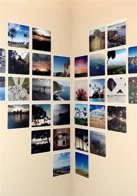 dorm room decor inspiration   photo wall collage