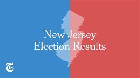 jersey election results    york times