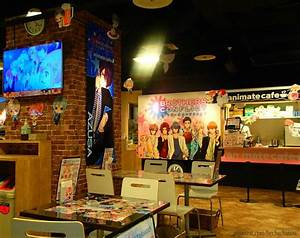 Animate Cafe Sannomiya and Brothers Conflict did ...