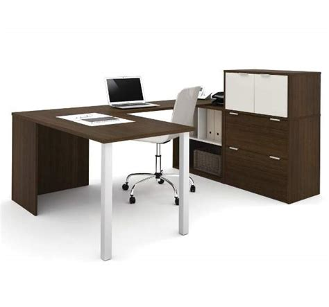 bestar u shaped desk bestar 150860 u shaped desk
