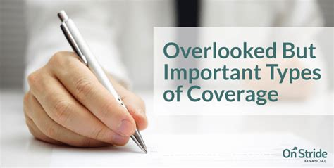 4 Types Of Overlooked Insurance