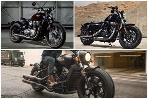 Indian Scout Bobber Vs Triumph Bobber Vs Harley Davidson