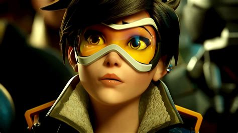 Overwatch Agent Tracer Wallpapers Hd Wallpapers Id 17880