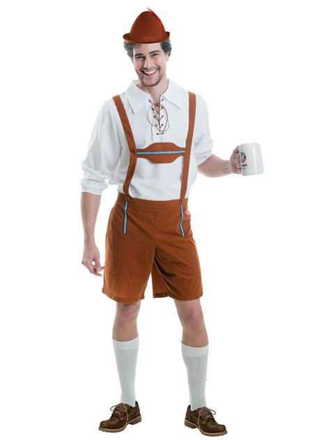 adult  oktoberfest guy costume  fancy dress ball