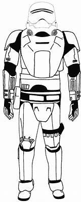 Stormtrooper Coloring Soidergi Wars Entitlementtrap sketch template
