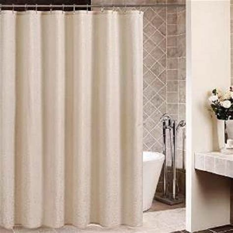 plastic shower new beige hotel heavy duty bathroom vinyl plastic shower