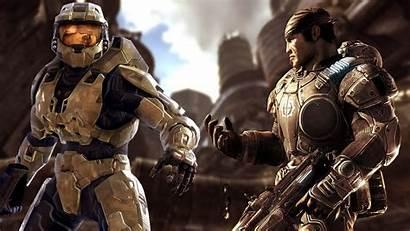 Gears War Halo Marcus Xbox Fenix Crossover