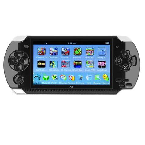 coolboy  handheld game console black