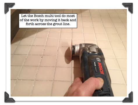 removing grout from tile the best grout removal tools for tile shower floors