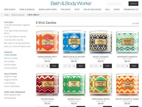 And Bath Collection Website by Bath Works Brazil Collection Tropical Fragrances