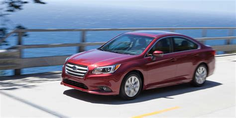 subaru legacy red 2017 2017 subaru legacy vehicles on display chicago