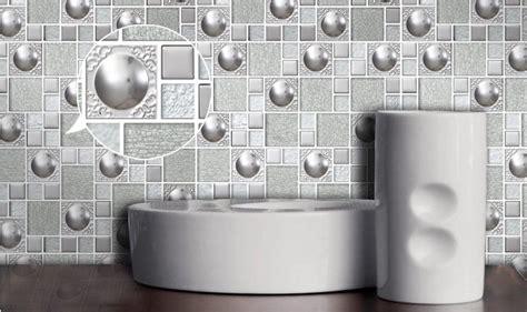 blue kitchen backsplash glass and metal backsplash tiles silver stainless steel 1728