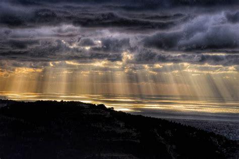 saturday beirut  storm stormy weather sun sunset