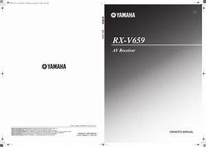 Yamaha Rx V659 Owners Manual