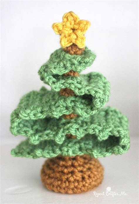 crochet christmas tree repeat crafter