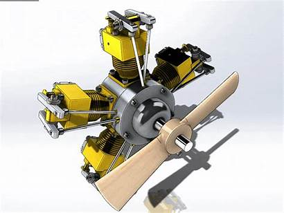 Solidworks Engine Radial 3d Autocad Cad Comparison
