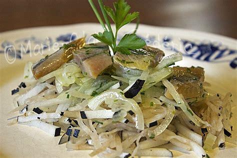 comment cuisiner le hareng salade de chou lacto fermenté au hareng fumé ni cru