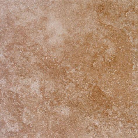 18 x 18 porcelain floor tile ms international travertino walnut 18 in x 18 in glazed porcelain floor and wall tile 15 75
