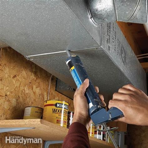 plug leaky ducts  family handyman