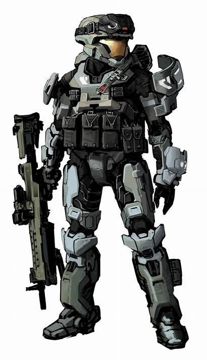 Halo Armour Concept Noble Spartan Marine Powered